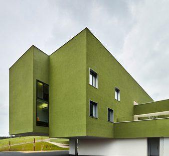 façade de l'EPMS d'Orbec